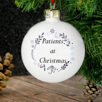Patients at Christmas